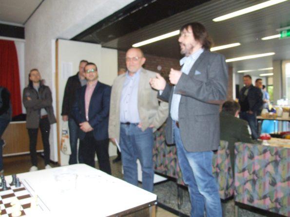 Von links: Tonio Testa, Gerd Bollmann und Volker Rhein